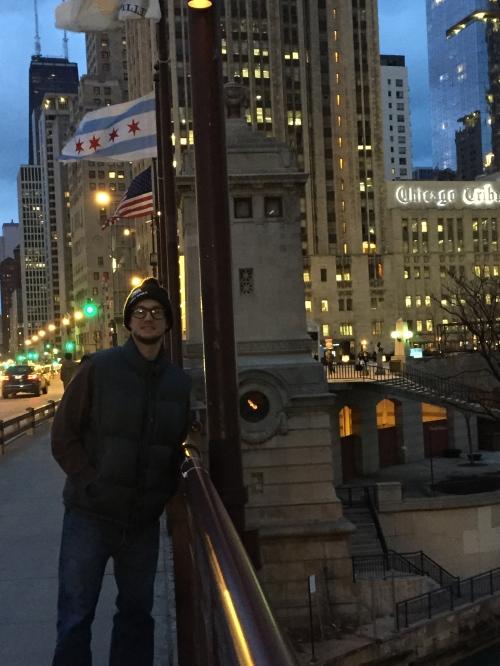 Justin Chicago Night