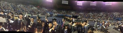 University of Nevada Reno Graduation Pano