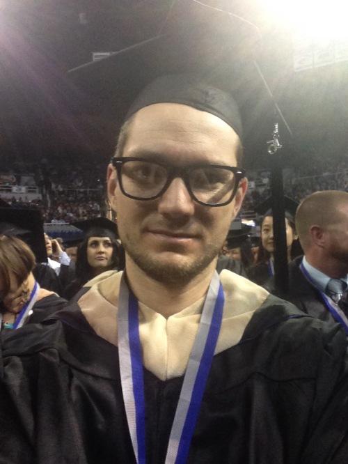 University of Nevada Reno Graduation Selfie