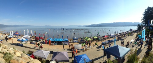 Race the Lake of the Sky 2015 Pano