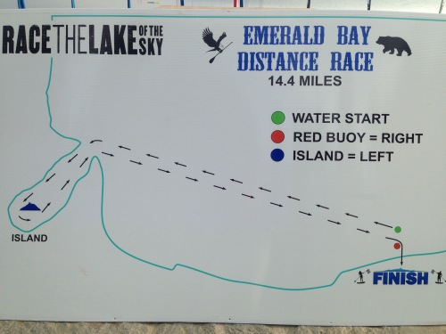 Race the Lake of the Sky 2015 Emerald Bay map