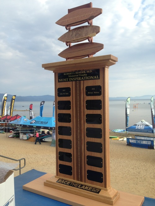 Race the Lake of the Sky 2015 Trophy