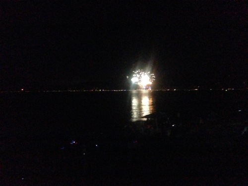 Lake Tahoe 4th of July Fireworks 2015