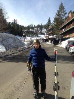 Brien ready to ski