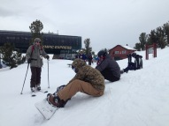 The crew at Heavenly